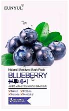 Parfüm, Parfüméria, kozmetikum Szövetmaszk áfonya kivonattal - Eunyul Natural Moisture Blueberry Mask