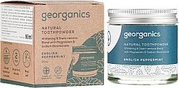 Parfüm, Parfüméria, kozmetikum Natúr fogpor - Georganics English Peppermint Natural Toothpowder
