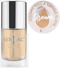 Parfüm, Parfüméria, kozmetikum Köröm- és körömágybőr ápoló olaj citrus illattal - Semilac Care Nail & Cuticle Elixir Dream