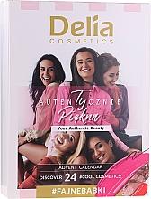 Parfüm, Parfüméria, kozmetikum Smink készlett - Delia Cosmetics Calendar 2020/2021