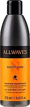 Parfüm, Parfüméria, kozmetikum Sampon sérült hajra - Allwaves Nutri Care Regenerating Shampoo