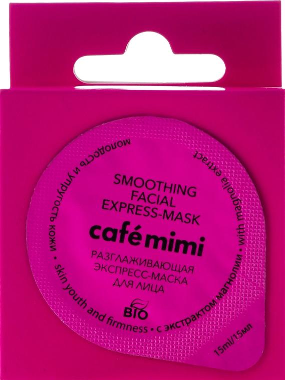 """Expressz arcmaszk """"Fiatal és feszes bőr"""" liliomfa kivonattal - Cafe Mimi Smoothing Facial Express-Mask"""