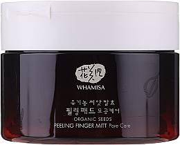 Parfüm, Parfüméria, kozmetikum Peeling szivacs arcra - Whamisa Organic Seeds Peeling Finger Mitt Pore Care