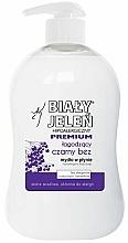 Parfüm, Parfüméria, kozmetikum Hipoallergén szappan, bodza kivonattal - Bialy Jelen Hypoallergenic Premium Soap Extract From Elderberry