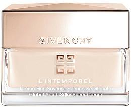 Parfüm, Parfüméria, kozmetikum Gyengéd arckrém - Givenchy L'Intemporel Global Youth Silky Sheer Cream