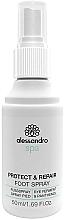 Parfüm, Parfüméria, kozmetikum Spray lábra baktériumok ellen - Alessandro International Spa Protect & Repair Foot Spray