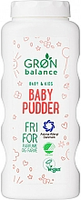 Parfüm, Parfüméria, kozmetikum Talk - Gron Balance Baby & Kids Baby Pudder