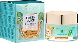 Parfüm, Parfüméria, kozmetikum Hidratáló erősítő-krém bioaktív citrus vízzel - Bielenda Fresh Juice Booster