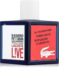 Parfüm, Parfüméria, kozmetikum Lacoste Lacoste Live Collector`s Edition - Eau De Toilette