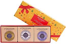 Parfüm, Parfüméria, kozmetikum Szett - L'occitane Trio De Savons (soap/3x100g)