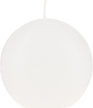 Parfüm, Parfüméria, kozmetikum Aroma gyertya, fehér, 80 mm - Bolsius Ball Candle Rustic