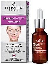 Parfüm, Parfüméria, kozmetikum Éjszakai savas arcradír - Floslek Dermo Expert Anti Aging Peeling