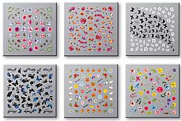 Parfüm, Parfüméria, kozmetikum Körömmatrica szett 42751 - Top Choice Nail Decorations Stickers Set