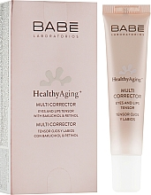 Parfüm, Parfüméria, kozmetikum Multi-korrektor anti-age hatással szemkörnyékre és ajakra - Babe Laboratorios Healthy Aging Multi Corrector