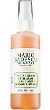 Parfüm, Parfüméria, kozmetikum Arcspray aloe zsályával és narancsvirággal - Mario Badescu Facial Spray with Aloe Sage & Orange Blossom