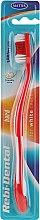 Parfüm, Parfüméria, kozmetikum Fogkefe Rebi-Dental M43, kemény söréjű, piros - Mattes