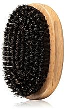 Parfüm, Parfüméria, kozmetikum Fából készült szakállkefe - Angry Beards Beard Brush Gentler
