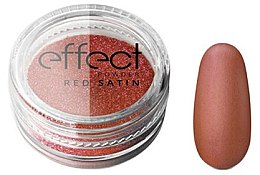 Parfüm, Parfüméria, kozmetikum Körömdíszítő púder - Silcare Red Satine Effect Powder
