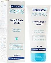 Parfüm, Parfüméria, kozmetikum Tusoló és arctisztító gél - Novaclear Atopis Face&Body Wash