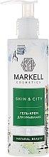 """Parfüm, Parfüméria, kozmetikum Arclemosó krém gél """"Reszkető hógomba"""" - Markell Cosmetics Skin&City Face Mask"""