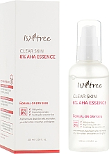 Parfüm, Parfüméria, kozmetikum Esszencia arcra tejsavval és glikolsavval - IsNtree Clear Skin 8% Aha Essence