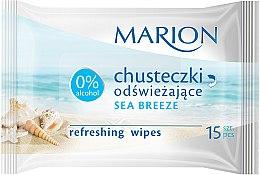 """Parfüm, Parfüméria, kozmetikum Frissítő törlőkendő """"Sea Breeze"""", 15db - Marion"""