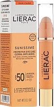 Parfüm, Parfüméria, kozmetikum Szemkörnyékápoló balzsam - Lierac Sunissime Protective Eye Care Anti-Age Global SPF50