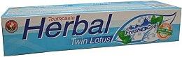 Parfüm, Parfüméria, kozmetikum Növényi fogkrém - Twin Lotus Fresh & Cool