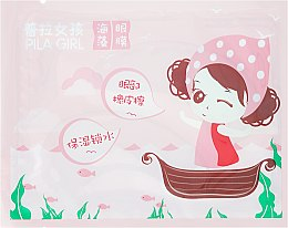 Parfüm, Parfüméria, kozmetikum Szemkörnyékápoló tapasz - Pilaten Pila Girl Seaweed Eye Mask