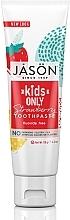 "Parfüm, Parfüméria, kozmetikum Gyerekfogkrém ""Eper"" - Jason Natural Cosmetics Kids Only Toothpaste Strawberry"