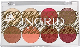 Parfüm, Parfüméria, kozmetikum Szemhéjfesték paletta - Ingrid Cosmetics Bali Eyeshadows Palette