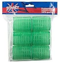 Parfüm, Parfüméria, kozmetikum Tépőzáras hajcsavaró 48/63, zöld - Ronney Professional Velcro Roller