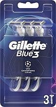Parfüm, Parfüméria, kozmetikum Eldobható borotva készlet, 3db - Gillette Blue3 Comfort Football