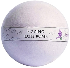 "Parfüm, Parfüméria, kozmetikum Fürdő bomba ""Levendula"" - Kanu Nature Bath Bomb Lavender"