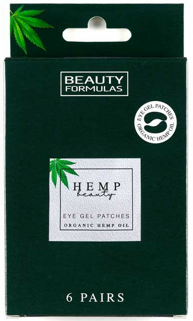 Szem alatti tapasz - Beauty Formulas Hemp Beauty Eye Gel Patches