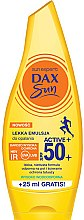 Parfüm, Parfüméria, kozmetikum Könnyed napvédő emulzió testre - Dax Sun Light Emulsion Active+ SPF50