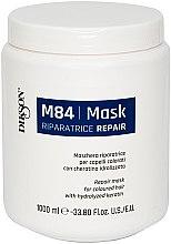 Parfüm, Parfüméria, kozmetikum Helyreállító maszk festett hajra hidrolizált keratinnal - Dikson M84 Repair Mask