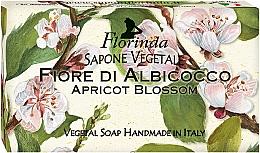 """Parfüm, Parfüméria, kozmetikum Natúr szappan """"Sárgabarack virág"""" - Florinda Sapone Apricot Blossom Vegetal Soap Bar"""
