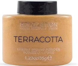 Parfüm, Parfüméria, kozmetikum Arcpúder - Makeup Revolution Terracotta Luxury Baking Powder