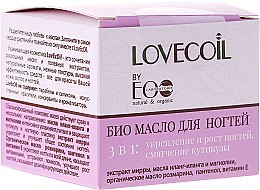 Parfüm, Parfüméria, kozmetikum Bio olaj körömre 3 az 1-ben - ECO Laboratorie Lovecoil Nail Care Bio-Oil 3 in 1