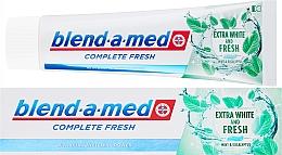 Parfüm, Parfüméria, kozmetikum Fogkrém - Blend-a-med Complete Fresh Extra White & Fresh