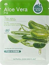Parfüm, Parfüméria, kozmetikum Aloe Vera hidratáló szövetmaszk - Rorec Natural Skin Aloe Mask