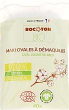 Parfüm, Parfüméria, kozmetikum Vattakorongok gyerekeknek, ovális, 40 db - Bocoton Bio