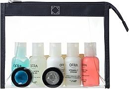 Parfüm, Parfüméria, kozmetikum Szett - Ofra Skin Care Kit Dry (cleanser/30ml + f/ton/30ml + eye/remover/30ml + f/cr/30ml + ser/30ml + f/peel/7ml + b/scrub/7ml + bag)
