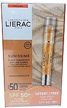 Parfüm, Parfüméria, kozmetikum Szett - Lierac Sunissime (sun/fluid/40ml + sun/eye/balm/3g)