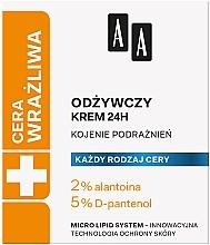 Parfüm, Parfüméria, kozmetikum Tápláló krém - AA Technolgia Wieku Cera Wrażliwa Nourishing Cream