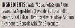 Golyós izzadásgátló levendula és fehér tea illattal - Crystal Essence Deodorant Roll-On — fotó N3