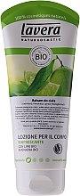 "Parfüm, Parfüméria, kozmetikum Frissítő lotion ""Lime és vasfű"" - Lavera Organic Lime & Verbena Body Lotion"