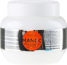 """Parfüm, Parfüméria, kozmetikum Hidratáló-regeneráló hajpakolás mangó olajjal """"Mangó"""" - Kallos Cosmetics Mango"""