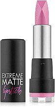 Parfüm, Parfüméria, kozmetikum Matt ajakrúzs - Flormar Extreme Matte Lipstick